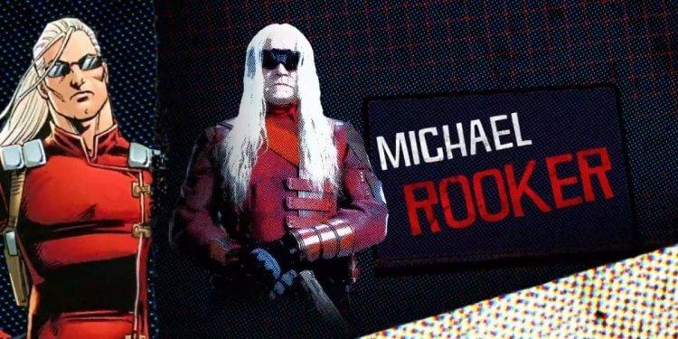 《自殺突擊隊:集結》麥克魯克飾演「智者」。