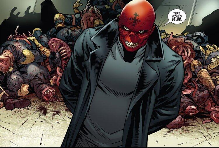 漫威漫畫中的紅骷髏。
