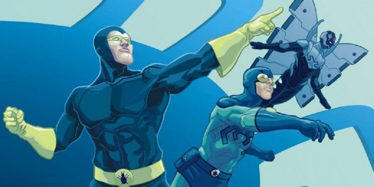 DC 宇宙超級英雄「藍甲蟲」。