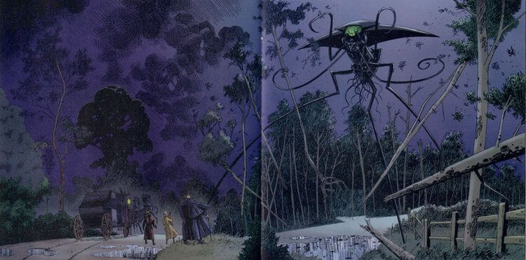 《天降奇兵》漫畫。