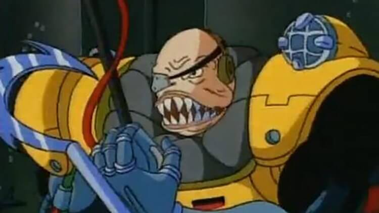 動畫《鯊魚俠》:雙面博士。