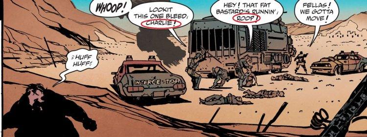 《瘋狂麥斯》漫畫。