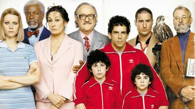 由 魏斯安德森 所執導, 班史提勒 比爾莫瑞 歐文威爾森 葛妮絲派特洛 等人演出的 電影 《 天才一族 》 劇照 。