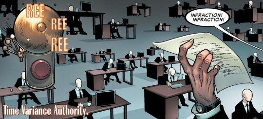 漫威漫畫「時間變異管理局」。