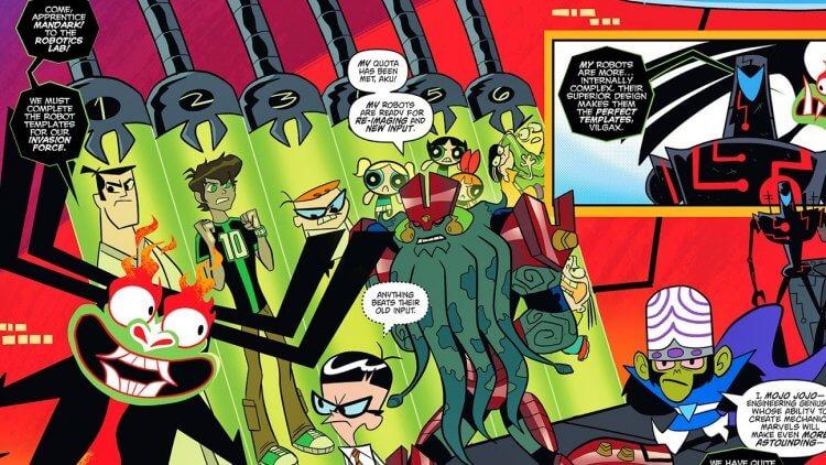 妙妙卡通時期《超級秘密危機戰爭!》(Super Secret Crisis War!) 。