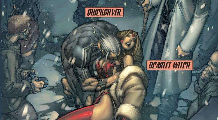「終極宇宙」的快銀和緋紅女巫介紹。