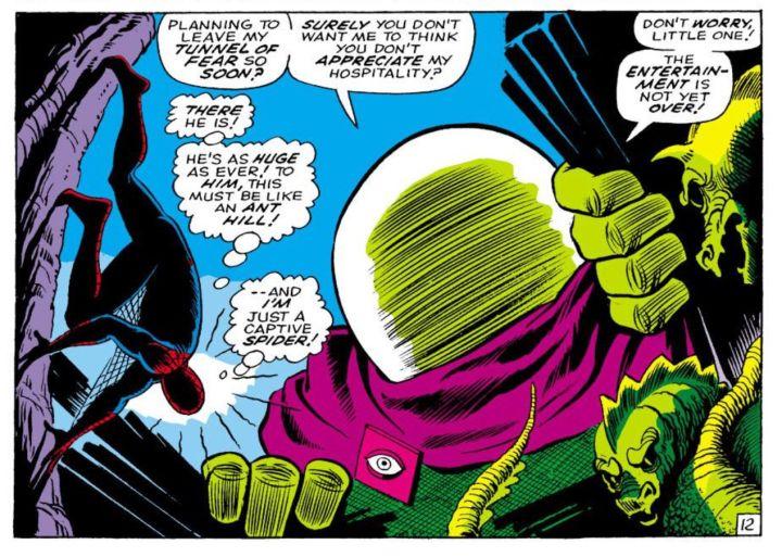 身手超凡又有魔術才能,加上化學知識自製迷幻劑還擅長催眠, 神祕客 可說是 蜘蛛人 最難纏的對手。