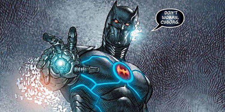 蝙蝠俠「殺戮機器」。