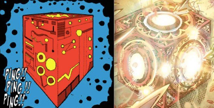 漫畫中的母盒。