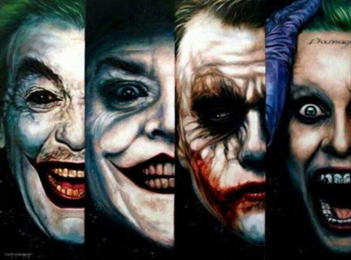 DC 電影中的經典反派 : 小丑 ,歷年來各個演員皆留下許多令人印象深刻的演出。