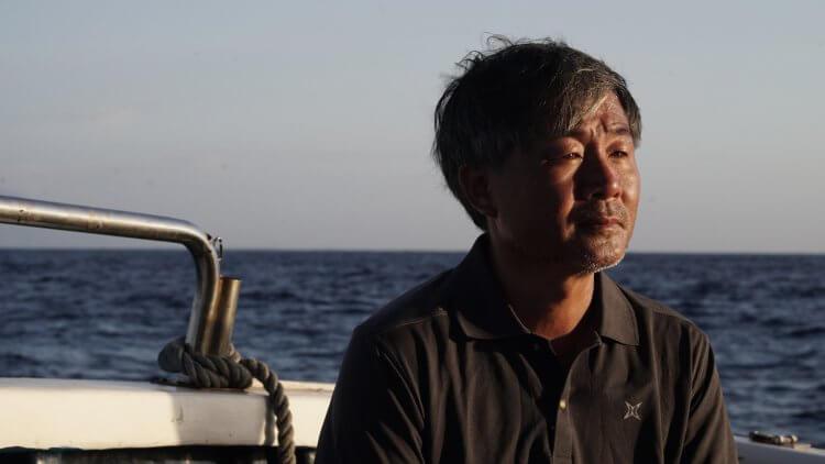 作家廖鴻基。