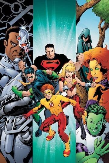《Teen Titans》漫畫。