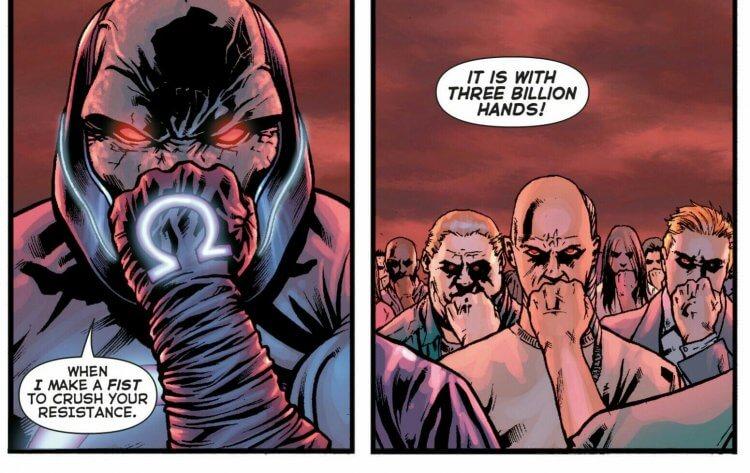 DC 漫畫達克賽德。