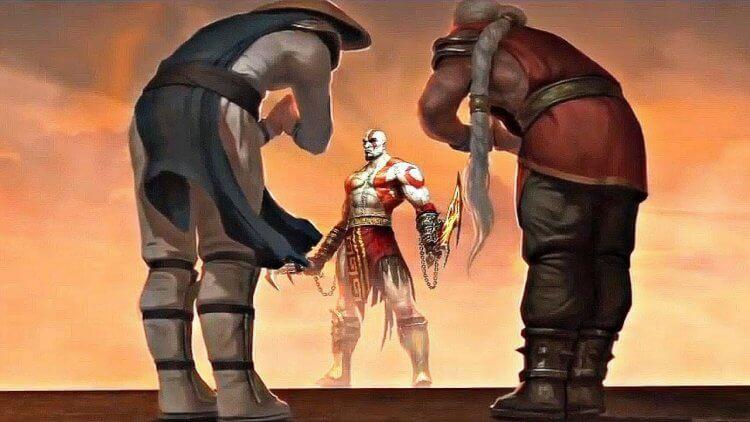 客串登場《真人快打》電玩的索尼遊戲《戰神》系列主角「奎爺」奎多斯。
