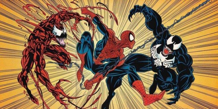 猛毒、血蜘蛛以及蜘蛛人。