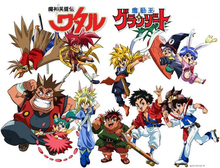 系初同門的日本動畫《魔神英雄傳》與《魔動王》日前曾辦聯合展覽紀念 30 週年。