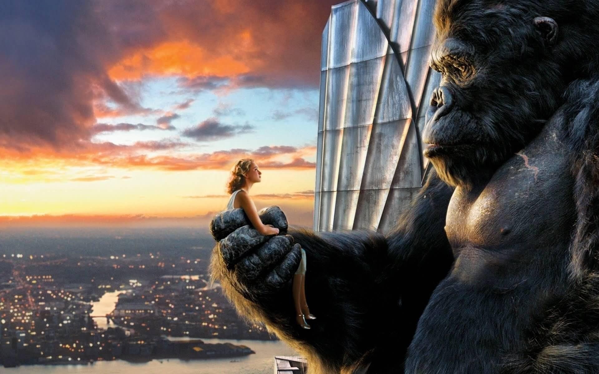 跨物種 愛情電影 金剛 King Kong
