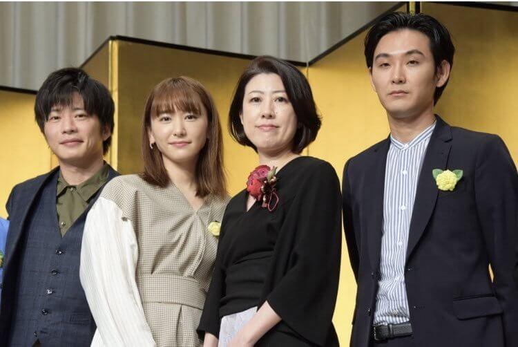 田中圭、新垣結衣、松田龍平等卡司共演,黃金編劇野木亞紀子得獎日劇《無法成為野獸的我們》。