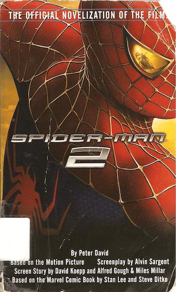 《蜘蛛人2》。