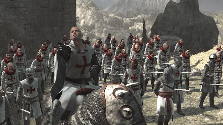 《刺客教條》聖殿騎士團。
