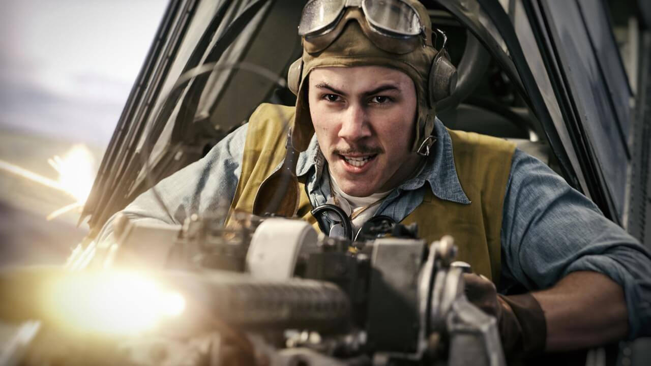 羅蘭艾默瑞奇導演戰爭片《決戰中途島》重現二戰時期美軍與日軍激烈海空戰。