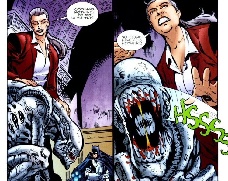 《蝙蝠俠/異形 2》(Batman/Aliens II) 漫畫。