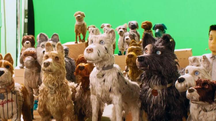 停格動畫電影 《 犬之島 》花費兩年時間製作,期間動員超過 670 名團隊成員。