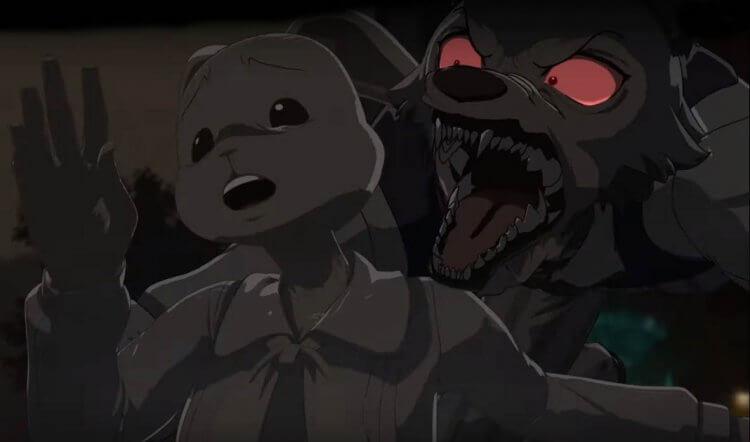 動物擬人的群像劇,動畫影集《BEASTARS》。