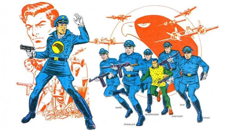 關於「黑鷹」的 DC 漫畫。