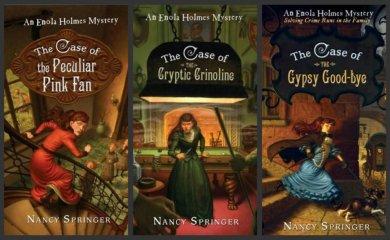 南西史賓格暢銷系列小說《天才少女福爾摩斯》。