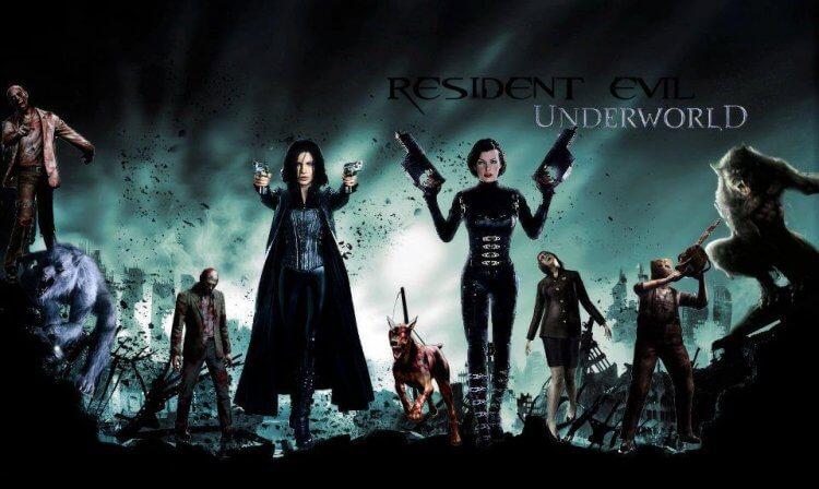 《決戰異世界》跟《惡靈古堡》。
