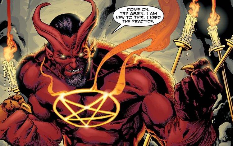 DC 漫畫中的 Sabbac。