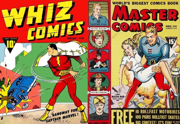 美國超級英雄漫畫。