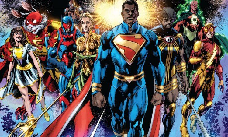 DC 漫畫:超人擔任美國總統。