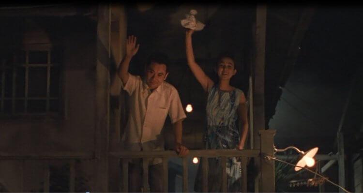 《與異人們共度的夏天》電影劇照。