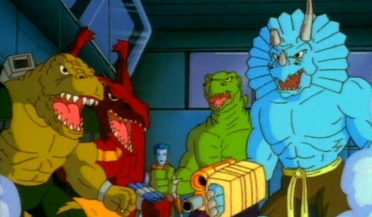 《星際恐龍》劇照。