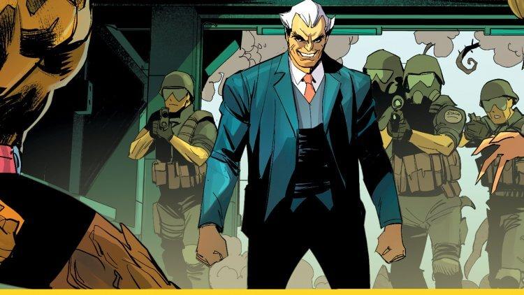 DC 漫畫中的西蒙史塔格。