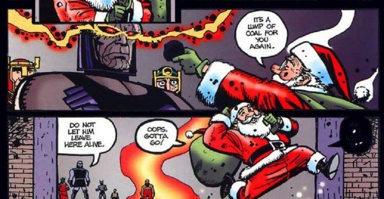 DC 宇宙裡的聖誕老人。