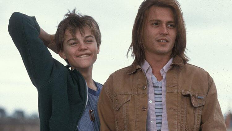 《戀戀情深》李奧納多狄卡皮歐(左)與強尼戴普。。