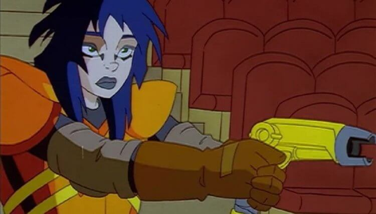 《捉鬼特攻隊》卡通:凱莉格里芬 (Kylie Griffin)。
