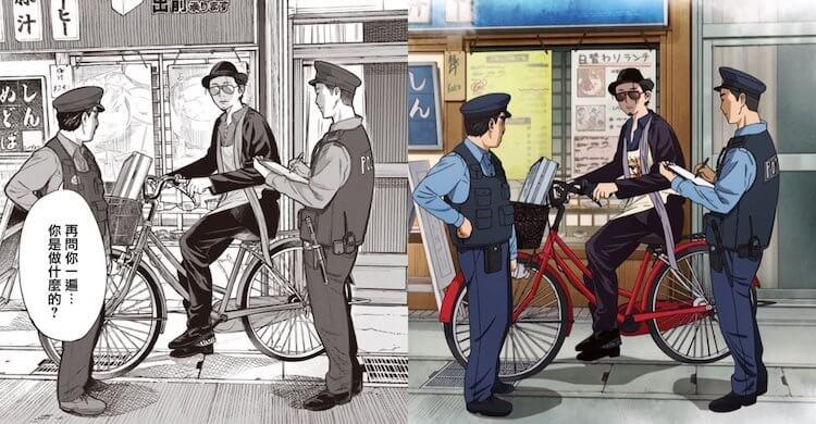 《極道主夫》動畫版呈現的分鏡與畫面幾乎和漫畫版一模一樣。