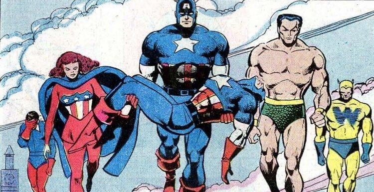漫威漫畫中成為二代美國隊長的威廉納斯蘭德。
