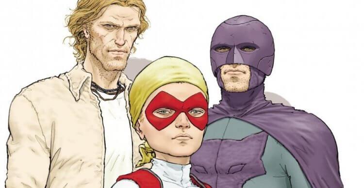 《朱比特傳奇》漫畫系列也有推出前傳《朱比特之環》