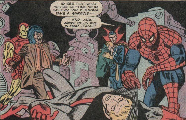 漫威漫畫-蜘蛛人、奇異博士