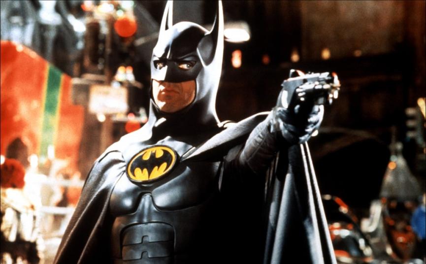 麥可基頓 (米高基頓 ) 所演出的 蝙蝠俠 蝙蝠俠大顯神威 皆在影迷心中留下深刻印象