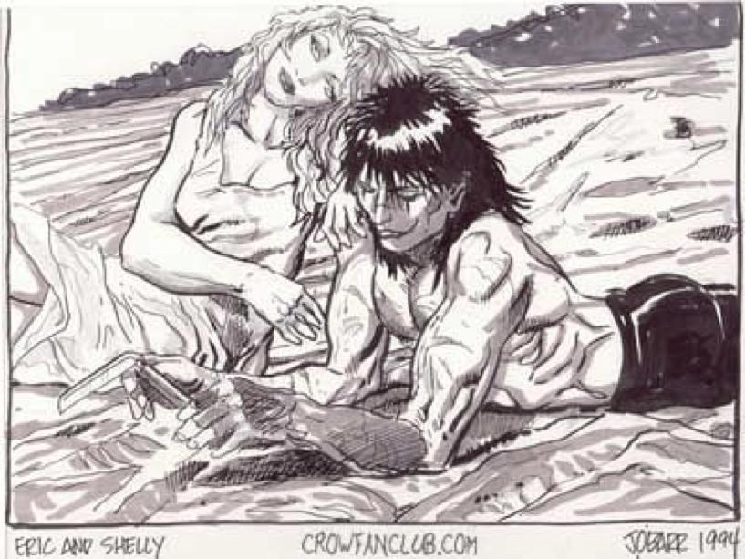 1994年所刊行的《 龍族戰神 》 漫畫 畫面 。
