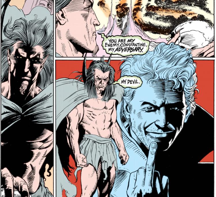 康斯坦汀《Hellblazer》漫畫。