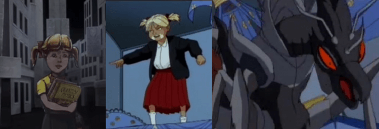 動畫影集《MIB 星際戰警》:蟲族女王。