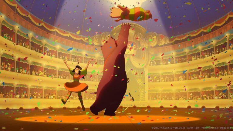 熊族與人類只有戰?動畫電影《熊熊大作戰》王家衛、坎城等影展御用插畫大師洛倫索馬蒂奇幻新作 4/30 絕美上映