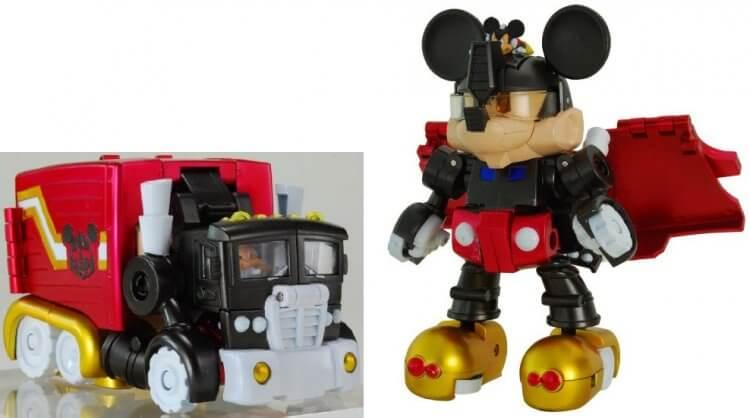 迪士尼與變形金剛的聯名產品 Disney Label。